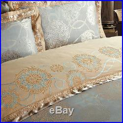 MAJESTY 4-Piece Luxury Sheets Duvet Cover Set, Queen, Double/Full