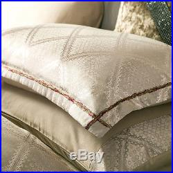 MAJESTY Bedding 4-Piece Luxury Sheets Pearl Duvet Cover Set (Double/Full, Queen)