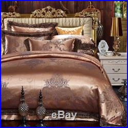 MAJESTY Bedding Collection Luxury Bronze Duvet Cover Set (Double/Full, Queen)