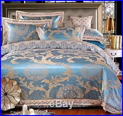 MAJESTY Collection 4-Piece Luxury Sheets Duvet Cover Set (Double/Full, Queen)