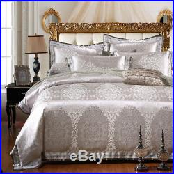 MAJESTY Collection Duvet Cover Sheets Pillow Cases Bedding Set (Queen, Full)