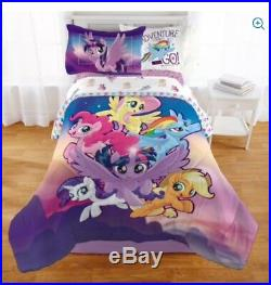 MY LITTLE PONY Movie COMFORTER +Pillow SHAM +SHEETS Set Full/Double Bed in a Bag
