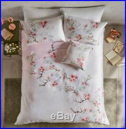 NEW TED BAKER ORIENTAL BLOSSOM super king DUVET COVER AND SET OF PILLOWCASES