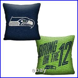NFL Seattle Seahawks Full/Queen Comforter with Pillow and Full Sheet Set
