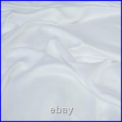 Panda 100% Bamboo Duvet Cover and Pillow Case Set, Pure White, Double
