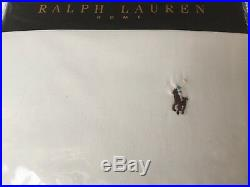 Ralph Lauren Chambray White Duvet Cover Set Double