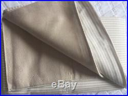 Ralph Lauren Oxford Stripe Linen Double Duvet Cover Set