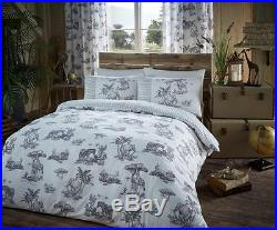 SAFARI Duvet Cover set Quilt Cover With Pillow Cases Bed Set Single Double King