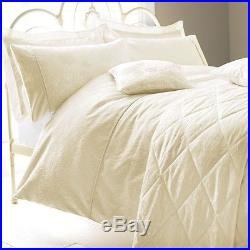 Sanderson Ashbee Cream Double Bedding Duvet Cover Pillow Cases Bedspread Set