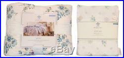 Simply Shabby Chic Blue Dascha Cotton Flower Full Patchwork Quilt & Sheet Set