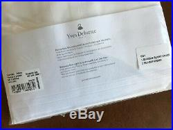 Sumptuous Yves Delorme Double Duvet Cover Set White over 50% off
