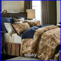 Tammy Southwestern Paisley Country Farmhouse Cottage Full 3-Piece Bed Set