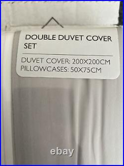 The white company Camberley double Set- Incl 2 Pillow Cases 280 TC NEW