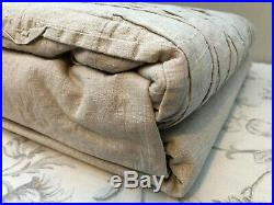 Washed LINEN/COTTON DOUBLE Bedding Set Duvet Cover, FITTED Sheet, 2 Pillow Cases