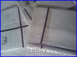 Yves Delorme Athena Figue 500tc Double Duvet Cover Set