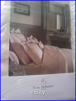 YVES DELORME CHIC ECRU SATIN Duvet Cover Set DOUBLE