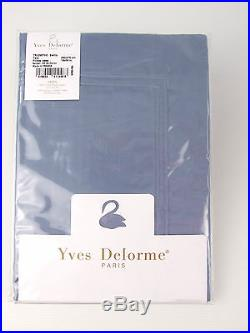 YVES DELORME TRIOMPHE BALTIC DUVET COVER SETS EGYPTIAN COTTON SATEEN 300TC