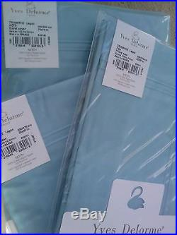 YVES DELORME TRIOMPHE LAGON Duvet Cover Set DOUBLE