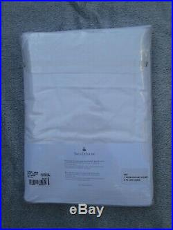 Yves Delorme 100% Cotton Duvet Cover Set & Fitted Sheet Double New Sealed