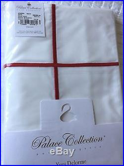 Yves Delorme Athena Blanc/ Opera 500tc Duvet Cover Set Double-palace Collection
