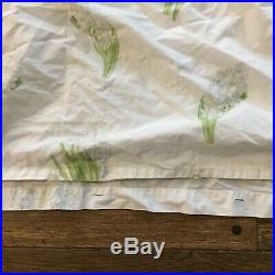 Yves Delorme Bed Sheet Set Full Double Duvet Cover Fitted Sheet Made In France