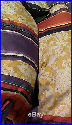 Yves Delorme GLAMOUR FIGUE Duvet Cover Set DOUBLE