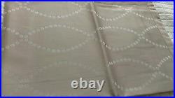 Yves Delorme POINTS CAFE CREME SATIN Duvet Cover Set DOUBLE LUXURY